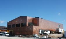 <h5>Collège D'Apples : Façade et toiture ventilée en revêtement cuivre propre fabrication</h5>