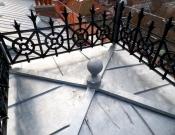 <h5>Vuillemin 8 10 Lausanne : Revêtement zinc avec ardoise naturelle, bâtiment classé</h5>