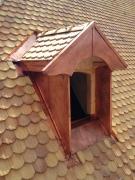 <h5>Hôtel de ville Morges : Couverture tuiles, revêtement cuivre</h5>